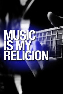 Music Is My Religion Guitar Picture